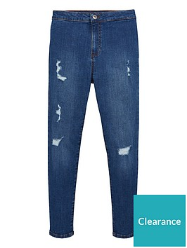 v-by-very-girls-skinny-high-waisted-ripped-jeans-blue