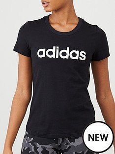adidas-essentials-linear-slim-tee-black