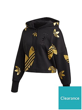 adidas-originals-large-logo-crop-hoodie-blackgoldnbsp