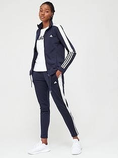 adidas-3-stripe-full-zip-tracksuit-navywhite