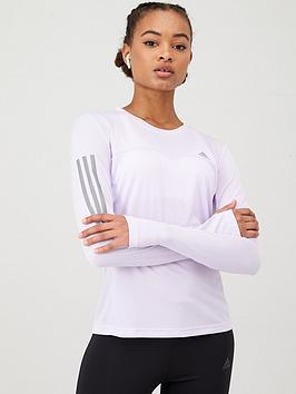 adidas-own-the-run-long-sleeve-tee-purple