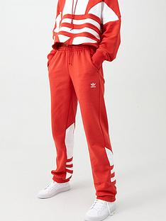 adidas-originals-large-logo-sweat-pant-red