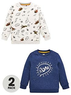 v-by-very-boys-2-pack-dino-sweatshirts-multi