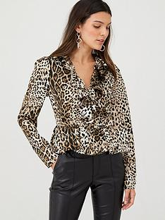v-by-very-satin-wrap-frill-blouse-leopardnbsp