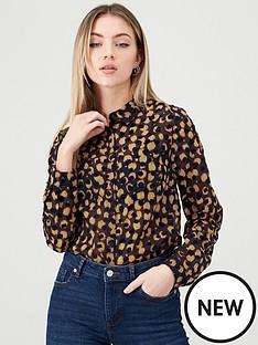 v-by-very-velvet-devore-button-down-shirt-black