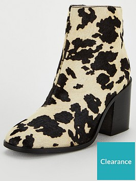 michelle-keegan-dream-cow-print-leather-ankle-boots-multi