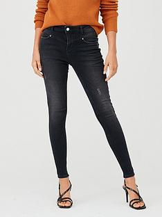 v-by-very-tallia-yoke-detail-skinny-jeans--black