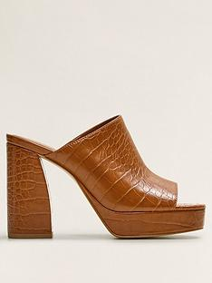 mango-chunky-heeled-mules-brown