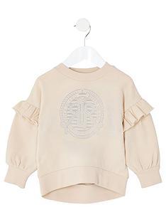 river-island-mini-mini-girls-ri-frill-sweatshirt-cream