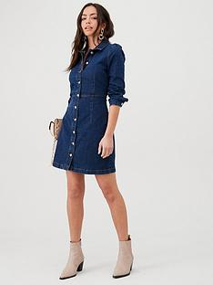 mango-denim-shirt-dress-blue