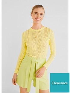 mango-paperbag-shorts-green