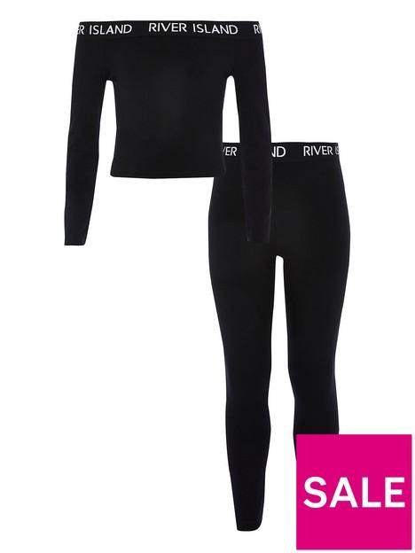 river-island-girls-bardot-top-outfit-black