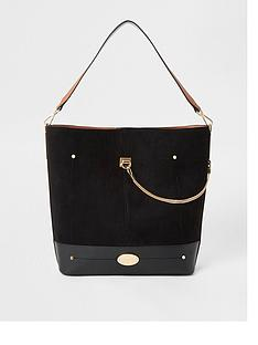 river-island-chain-slouch-bag-black