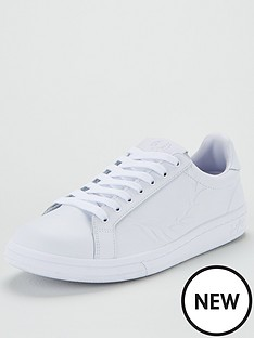 fred-perry-embossed-laurel-leather-trainer-whitenbsp