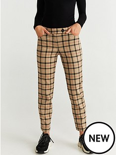 mango-straight-leg-check-trouser