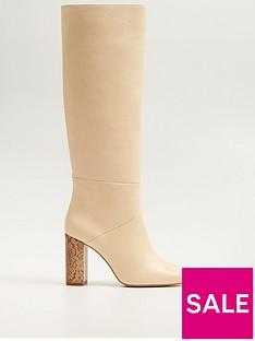 mango-knee-snake-heel-boot