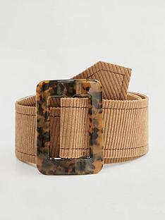 mango-tortise-shell-buckle-belt