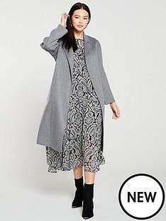mango-tie-waist-belted-coat-grey