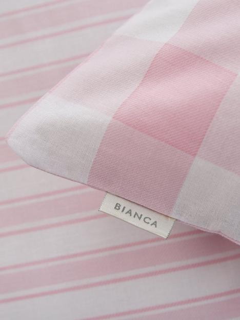bianca-fine-linens-bianca-pink-check-cotton-fitted-sheet