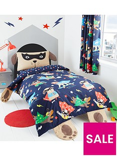 catherine-lansfield-super-dog-single-duvet-cover-set
