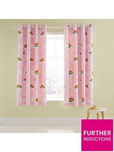 catherine-lansfield-rainbow-swan-lined-eyelet-curtains