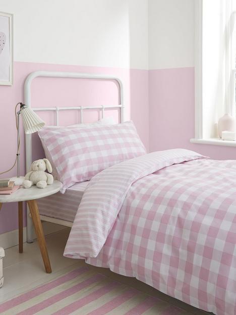 bianca-fine-linens-bianca-pink-check-cotton-duvet-cover-set