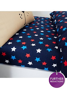 catherine-lansfield-super-dog-star-single-fitted-sheet