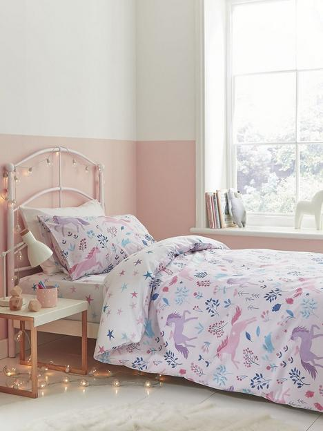 bianca-fine-linens-woodland-unicorn-and-stars-duvet-cover-set