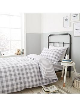 bianca-cottonsoft-bianca-grey-check-duvet-cover-set