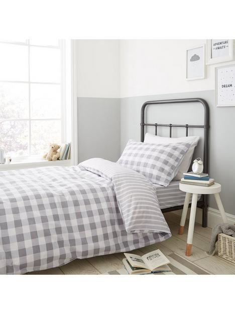 bianca-fine-linens-bianca-grey-check-duvet-cover-set