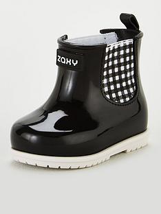 zaxy-baby-picnic-booties-black