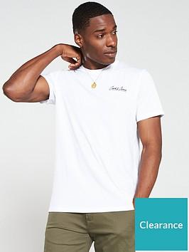 jack-jones-galileo-small-script-t-shirt-white