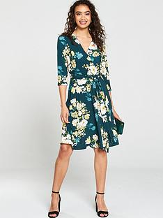 wallis-wallis-winter-bouquet-fit-and-flare-dress