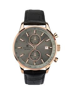 accurist-accurist-grey-sunray-and-gold-detail-chronograph-dial-black-leather-strap-mens-watch