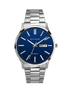 accurist-accurist-blue-daydate-dial-stainless-steel-bracelet-mens-watch