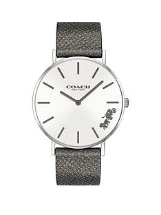 coach-coach-silver-and-black-detail-dial-black-leather-strap-ladies-watch
