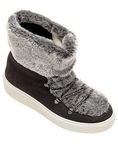 victoria-faux-fur-ankle-boots-grey