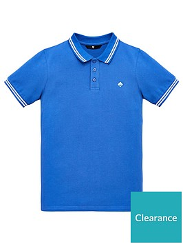 v-by-very-boys-short-sleeve-polo-shirt-blue