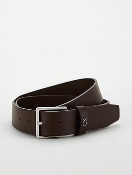 calvin-klein-formal-belt-chocolate-brown