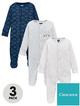 v-by-very-baby-boys-3-pack-cat-sleepsuits-multi
