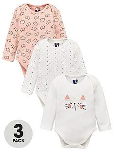 v-by-very-baby-girls-3-pack-cat-bodysuits-multi