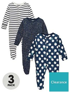 v-by-very-baby-boys-3-pack-spotstripeneppy-sleepsuits-multi