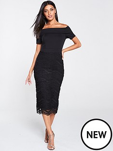 v-by-very-bardot-scuba-lace-pencil-dress-black