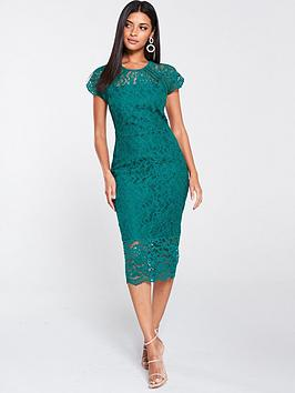 v-by-very-lace-pencil-dress-green