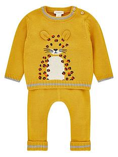 monsoon-elijah-leopard-knitted-set-mustard