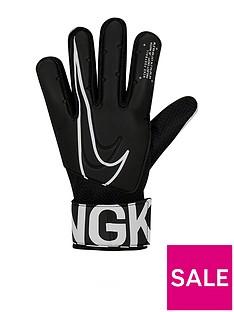 prod1089244404: Academy Goalkeeper Gloves - Black