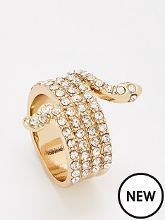 v-by-very-rhinestone-snake-ring-gold