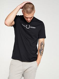 fred-perry-embroidered-t-shirt-black