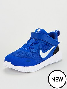 nike-revolution-5-toddler-trainers-bluewhite
