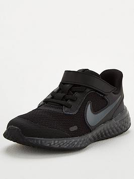 nike-revolution-5-childrens-trainers-black